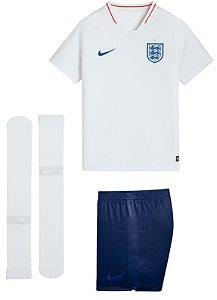 Kit infantil oficial Nike seleção da Inglaterra 2018 I jogador