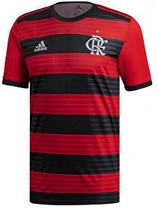 Camisa oficial Adidas Flamengo 2018 I jogador