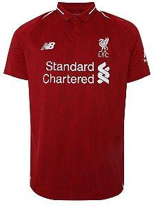 Camisa oficial New Balance Liverpool 2018 2019 I jogador