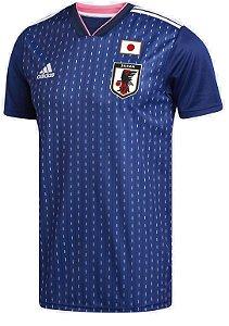 Camisa feminina oficial Adidas seleção do Japão 2018 I