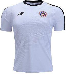 Camisa oficial New Balance seleção da Costa Rica 2018 II jogador
