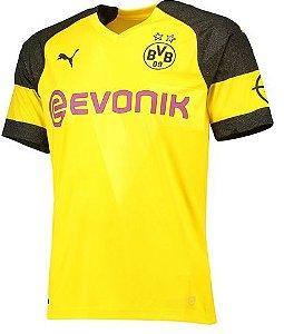 Camisa oficial Puma Borussia Dortmund 2018 2019 I jogador