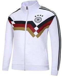 Jaqueta oficial Adidas seleção da Alemanha 2018 Tricolor