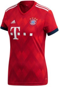 Camisa feminina oficial Adidas Bayern de Munique 2018 2019 I