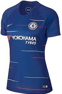 Camisa feminina oficial Nike Chelsea 2018 2019 I