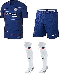 Kit adulto oficial Nike Chelsea 2018 2019 I jogador