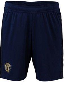 Calção oficial Adidas Manchester United 2018 2019 III jogador