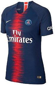 Camisa feminina  oficial Nike PSG 2018 2019 I