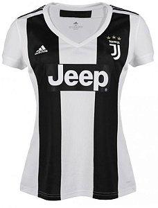 Camisa feminina oficial Adidas Juventus 2018 2019 I