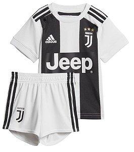 Kit infantil oficial Adidas Juventus 2018 2019 I jogador