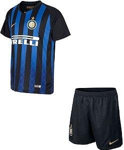 Kit infantil oficial Nike Inter de Milão 2018 2019 I jogador