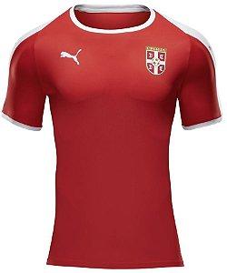 Camisa oficial Puma seleção da Servia 2018 I jogador