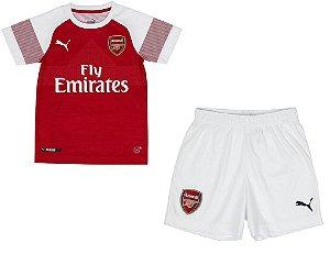 Kit infantil oficial Puma Arsenal 2018 2019 I jogador