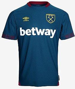 Camisa oficial Umbro West Ham 2018 2019 II jogador