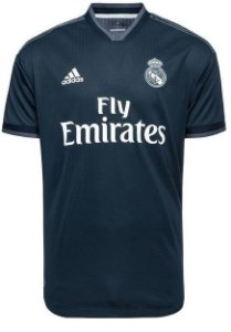 Camisa oficial Adidas Real Madrid 2018 2019 II jogador