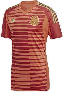 Camisa oficial Adidas Seleção do México 2018 I goleiro