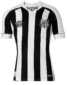 Camisa oficial Umbro Santos 2018 II jogador