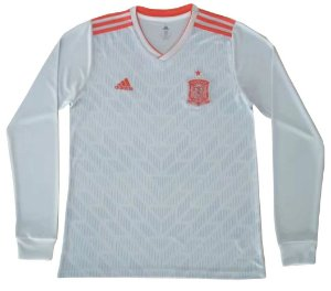 Camisa oficial Adidas seleção da Espanha 2018 II jogador manga comprida