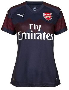 Camisa feminina oficial Puma Arsenal 2018 2019 II