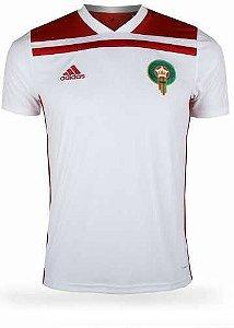 Camisa oficial Adidas Seleção do Marrocos 2018 II jogador