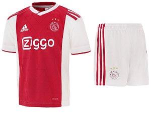 Kit infantil oficial Adidas Ajax 2018 2019 I jogador