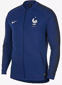 Jaqueta oficial Nike seleção da França 2018 Azul