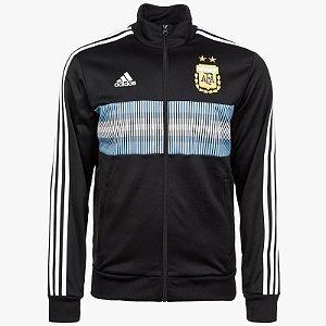 Jaqueta oficial Adidas seleção da Argentina 2018 preta