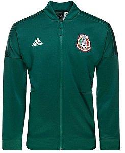 Jaqueta oficial Adidas seleção da México 2018 Verde