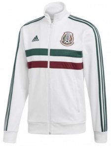 Jaqueta oficial Adidas seleção da México 2018 branca