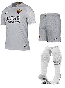 Kit adulto oficial Nike Roma 2018 2019 II jogador