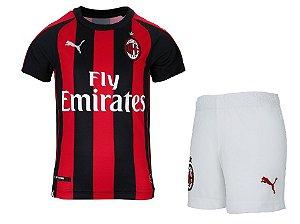 Kit infantil oficial Puma Milan 2018 2019 I jogador