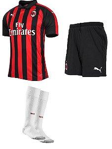 Kit adulto oficial Puma Milan 2018 2019 I jogador