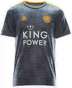Camisa oficial Adidas Leicester City 2018 2019 II jogador
