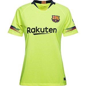 Camisa feminina  Barcelona 2018 2019 II