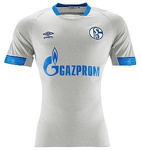 Camisa oficial Umbro Schalke 04 2018 2019 II jogador