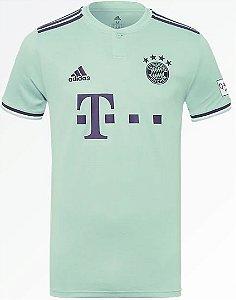 Camisa oficial Adidas Bayern de Munique 2018 2019 II jogador