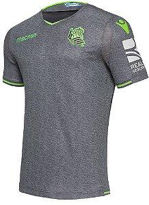 Camisa oficial Macron Real Sociedad 2018 2019 II jogador