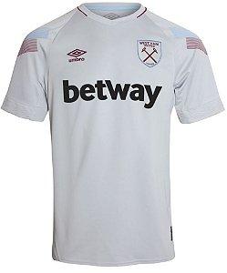 Camisa oficial Umbro West Ham 2018 2019 III jogador