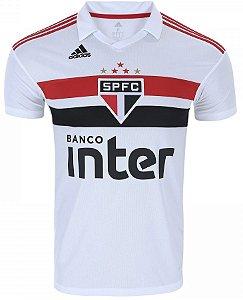 Camisa oficial Adidas São Paulo 2018 I jogador