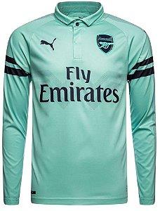 Camisa oficial Puma Arsenal 2018 2019 III jogador manga comprida