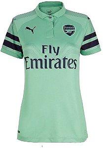 Camisa feminina oficial Puma Arsenal 2018 2019 III