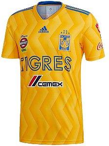 Camisa oficial Adidas Tigres UANL 2018 2019 I jogador