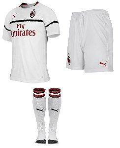 Kit adulto oficial Puma Milan 2018 2019 II jogador