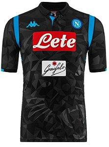 Camisa oficial Kappa Napoli 2018 2019 II jogador