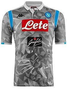 Camisa oficial Kappa Napoli 2018 2019 III jogador