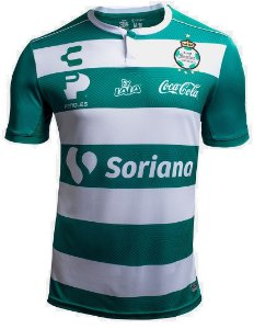 Camisa oficial Charly  Santos Laguna 2018 2019 I jogador