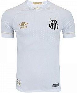 Camisa oficial Umbro Santos 2018 I jogador