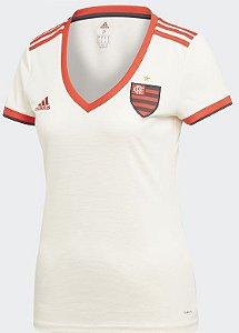Camisa feminina oficial Adidas Flamengo 2018 II
