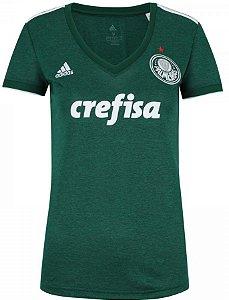Camisa feminina oficial Adidas Palmeiras 2018 I
