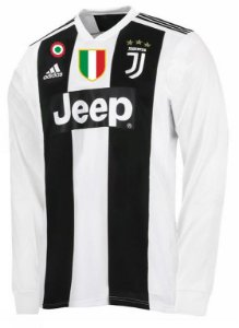 Camisa oficial Adidas Juventus 2018 2019 I jogador manga comprida